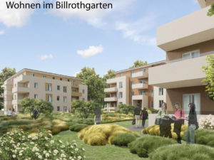 Billrothgarten Mehrfamilienhäuser Animation Übersicht_1