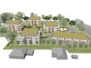Billrothgarten Mehrfamilienhäuser Animation Übersicht_2