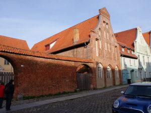 Stralsund Kampischer Hof Seite