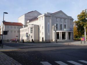 Theater Stralsund Eingang