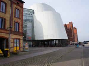 Ozeaneum Stralsund Ansicht Seite