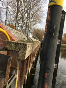 Premnitz Uferbefestigung erneuern Detail