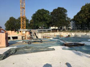 Billrothgarten Mehrfamilienhäuser Bau 2