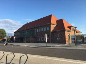 Wittstock Sanierung Bahnhof 1