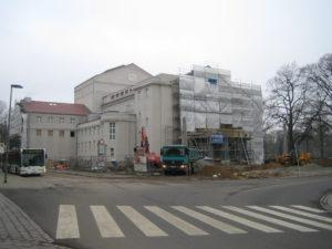 Theater Stralsund Bau