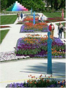 Landesgartenschau Rathenow Blumenbeete