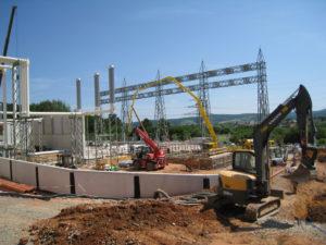 Bau Umspannwerk Mecklar3